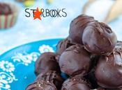 Tartufi cioccolato fondente pistacchio salato Starbooks