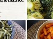 Cuocere pochi minuti verdure surgelate vapore pentola pressione elettrica
