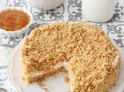 crostata sbriciolata senza cottura ricotta confettura