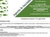 Progetto N.O.I. Nuovi Orizzonti dell'Itticoltura Corso Alta Formazione Gestione Sostenibile dell'Allevamento Ittico
