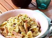 Pasta pesto pistacchi mortadella