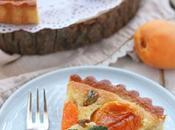 Crostata frangipane alle albicocche pistacchi