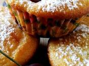 Muffin alle ciliegie panna acida