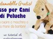 bambini possono cucire! Osso cani peluche modello gratis