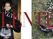 Kaia Gerber musa Valentino collezione pre-fall 2018