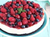 Cheesecake Oreo yogurt greco frutti bosco