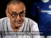 """VIDEO. Sarri commosso: """"Amerò sempre tifosi Napoli"""""""
