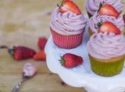 """Ricetta """"Cupcakes fragole mascarpone"""", dolcetti irresistibili dell'estate!"""