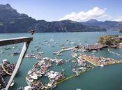 Bull Cliff Diving: capofitto lago
