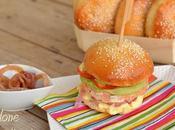 burger salmone Club