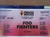 giugno 2018. Firenze Rocks. L'emozione concerto