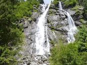 Un'escursione sentiero delle cascate Genova cascata Nardis