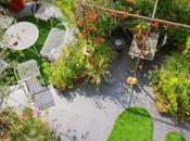 Agosto tempo arredare terrazzo prato sintetico