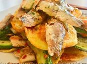 Tortino Sarde patate croccanti zucchine grigliate