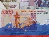 Rublo russo caduta libera dollaro causa delle sanzioni