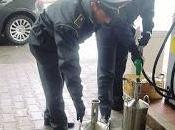Taroccato distributore benzina