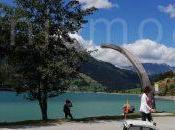 Bicicletta bambini Venosta: lago Resia