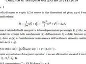 [¯ ¯] Esercizio d'esame sull'oscillatore armonico (quantistico) bidimensionale, dotato spin