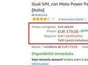Motorola Moto Play offerta euro venduto spedito Amazon