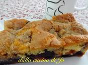 Torta albicocche mirtilli streusel alla cannella