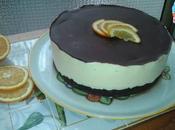 Torta all'arancia base cacao