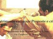Patrimonio culturale proposte criticita'