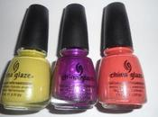 China Glaze L.E. Anchors Away Island Escape REVIEW SWATCHES PICS