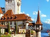 Canton Berna villaggio della Svizzera