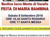 Sacro Monte festa Maria bambina