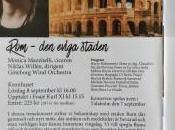 Narratrice concerti dedicati Roma