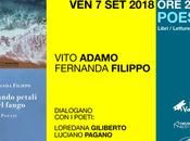 """Venerdì settembre 2018 Nardò (Le) Vito Adamo Fernanda Filippo ospiti della rassegna Franco sarebbe piaciuto"""""""