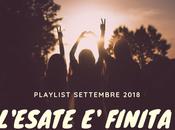 Playlist Settembre 2018
