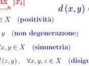 [¯|¯] definizione spazio metrico