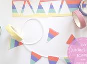 mini cake topper washi tape
