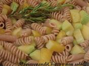 Pasta allo zenzero zucca zucchina