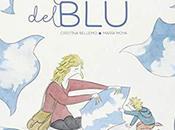 L'omino blu: felicità guardare cielo vero