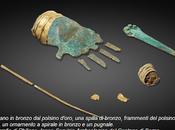 Archeologia. mistero della antica mano metallo d'Europa. raro manufatto, scoperto Svizzera risalente all'Età Bronzo, rappresentazione conosciuta Europa parte corpo umano. Potrebbe essere stata usata p...