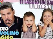 LASCIO SALUTO MATTEO L'ADDIO TAVOLINO MAGICO ROSA!