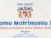 Promozione matrimoni 2019 Villa Valente