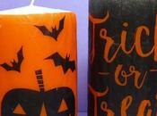 Candele Halloween decorazioni speciali