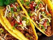 Pasto completo messicano base tacos, quesadillas guacamole