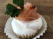 Mini cheesecake salmone