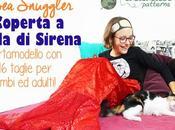 Cucire coperta coda sirena: Cartamodello Snuggler