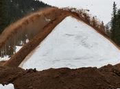 Tschentenalp pista innevata snowfarming