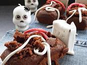 Bare plumcake cacao Halloween