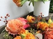 #fioridivenerdì- coroncina muschio tulipani