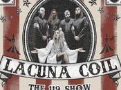 "LACUNA COIL Nuovo live video ""Nothing Stands Way"""