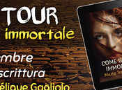 "Blog tour ""Come immortale"" Intervista Angélique Gagliolo"