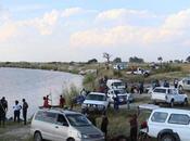 bufali annegati confine Namibia Botswana. tragedia trasformatasi miracolo.