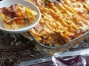Lasagne zucca, salsiccia porcini